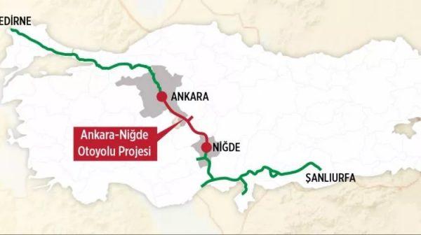 Ankara Niğde Otoyolu: 1. ve 3. Kesimler Açıldı